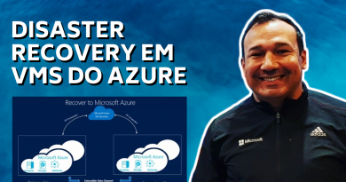 Disaster Recovery em VMs do Azure